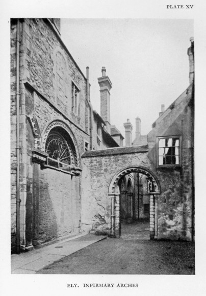 infirmary arches, Ely