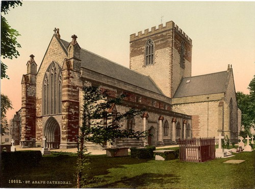 [Cathedral, St. Asaph, Wales]