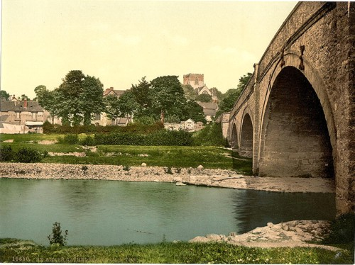 [Cathedral, from the river, St. Asaph, Wales]