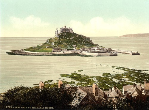 [Penzance, St. Michael's Mount, Cornwall, England]