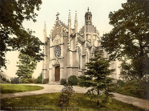 [St. Michael's Abbey, Farnborough, England]