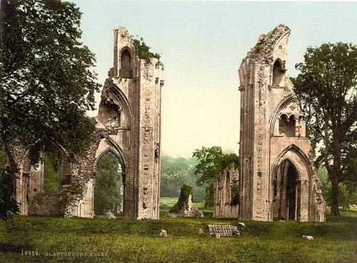 [Abbey, Glastonbury, England]