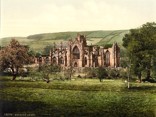 [The Abbey, Melrose, Scotland]