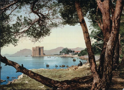 [The monastery of St. Honorat, Cannes, Riviera]