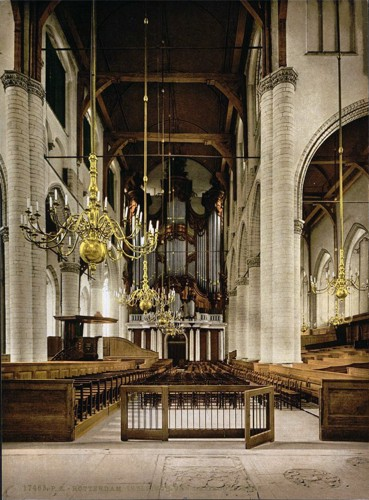 [Cathedral (interior), Rotterdam, Holland]