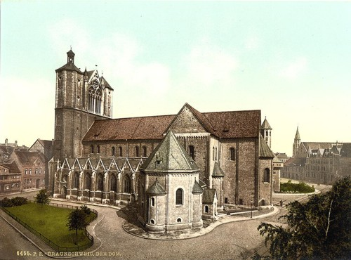 [The cathedral, Brunswick (i.e. Braunschweig), Germany]