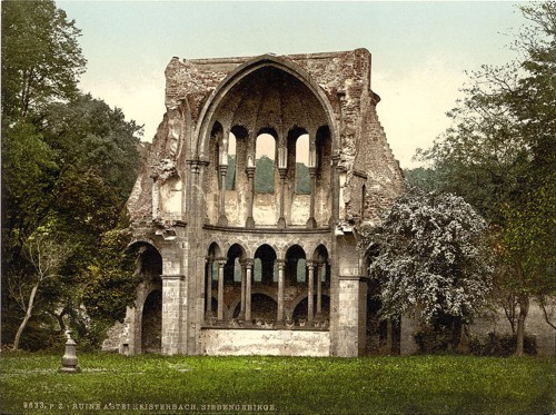 [Abtei Heisterbach ruins, the Rhine, Germany]