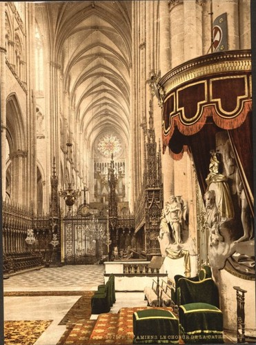 [The Cathedral choir, Amiens, France]