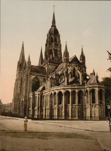 [The cathedral, Bayeux, France]