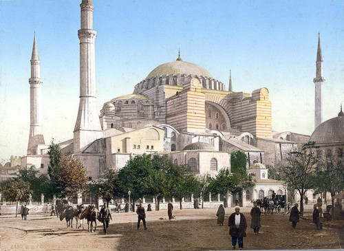 [Mosque of St. Sophia, Istanbul, Turkey]