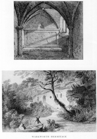 warkworth hermitage